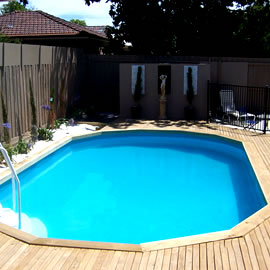 sterns above ground pools gold coast
