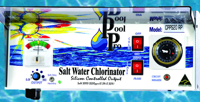 pool pro chlorinator gold coast